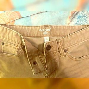 ✏️Cat & Jack khaki school uniform pants✏️